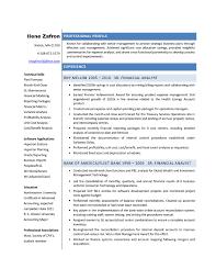 financial analyst resumes financial analyst resume template free resume