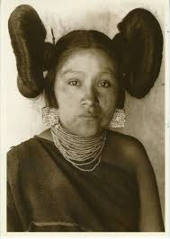 hopi maiden with squash blossom whorls to make this hairdo a