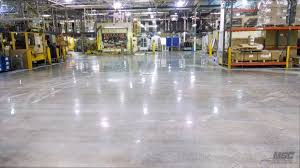 polished concrete installation in michigan ohio and indiana
