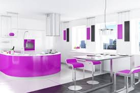 küche pink küche modern interieur design in roza farben wohn trends