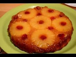 eggless pineapple upside down cake youtube