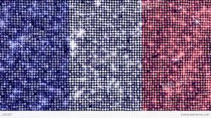 spangle flag france stock animation 265067