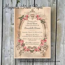 printable bridal shower invitation custom printable shabby chic