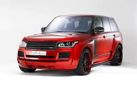 modified range rover official arden range rover ar 9 spirit special edition gtspirit