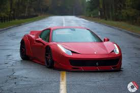 ferrari 458 widebody bagged liberty walk ferrari 458 u2013 aci dynamix