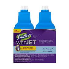 Swiffer Wet Mop On Laminate Floors Swiffer Wetjet 42 Oz Multi Purpose Floor Cleaner Refill With Open