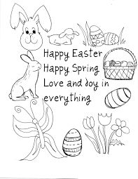 free easter printables easter lamb coloring pages easter time
