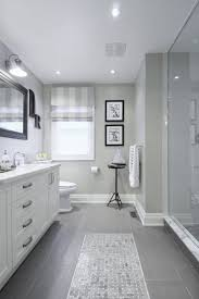 White Vanities Bathroom Gray Tile Floor With White Vanity Bathroom Ideas Love How They
