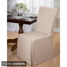 Chair Covers  Slipcovers Shop The Best Deals For Sep - Dining room chair slip covers