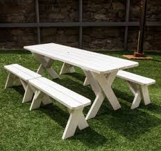 picnic table rentals tables furniture be our guest