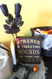 Orange Net Lights Halloween How To Design A Halloween Display On A Budget Athomestores