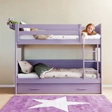 Bunk Bed With Pull Out Bed Cometa Bunk Bed With Trundle Drawer Asoral Cuckooland