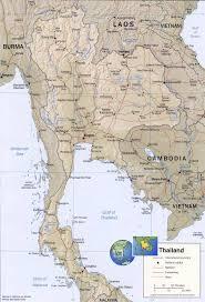 map of thailand thailand map bangkok asia