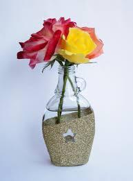 Star Vase Diy Glitter Vase This Fairy Tale Life
