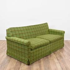 sleeper sofa san diego green plaid sleeper sofa loveseat vintage furniture san diego