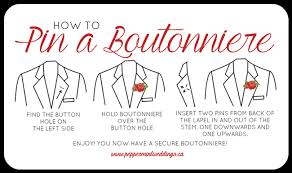 boutonniere pins bout 101 how to pin a boutonniere toronto sophisticated