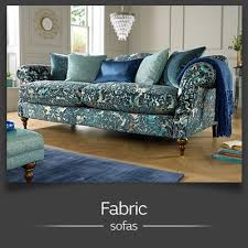 Print Fabric Sofas Corner Sofas In Leather Fabric Sofology