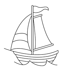 printable sailboat coloring pages coloring part 2 clip art