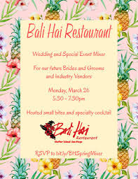 wedding plans wedding plans bali hai s wedding mixer march 26 2018