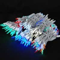 led lights on white wire novelty lights inc