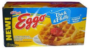 Eggo Toaster Waffles Review Kellogg U0027s Eggo Thick U0026 Fluffy Waffles Original U0026 Cinnamon