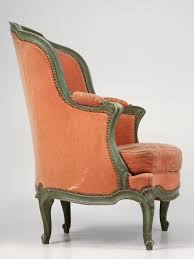 antique french louis xv bergere chair for sale old plank