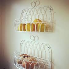 wall fruit basket fruit storage basket 3 tier wire basket stand tiered iron fruit