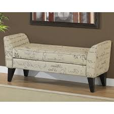 padded bench seat bench decoration