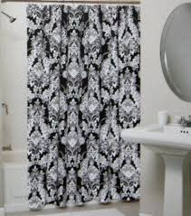 White Shower Curtains Fabric 164 Best Shower Curtains Images On Pinterest Fabric Shower