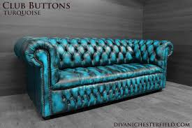 Leather Chesterfield Sofa Uk by Modern Chesterfield Sofa New Leathers Yellow Turquoise Pink Orange