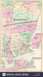 Map Of Long Island New York by Babylon Map Stock Photos U0026 Babylon Map Stock Images Alamy