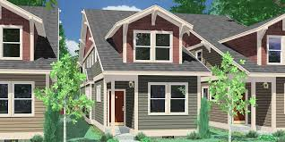 houses for narrow lots single family house plans floor plans home plans portland nw
