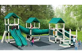 dream center younger kids backyard vinyl playset swing kingdom