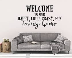 welcome to our home wall decal welcome wall decal home decor welcome to our home wall decal welcome wall decal home decor happy home decals happy home art wall art