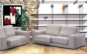 full top grain italian leather modern 3 piece living room set luxor