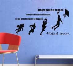 aliexpress com buy basketball dunk sport vinyl wall decal stride