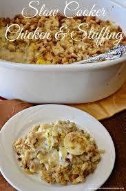 slow cooker thanksgiving stuffing pot chicken u0026 stuffing perfect celebrating fall