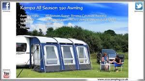 Hobby Caravan Awnings New Kampa Rally All Weather Awning 390 All Season Caravan Awning