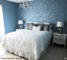wall stencils for bedrooms stunningly stenciled bedroom beauties stencil stories stencil