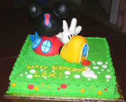 mickey mouse clubhouse birthday cake cakecentral com