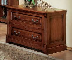Lateral Two Drawer File Cabinet Country Cherry Two Drawer Lateral File Cabinet By Winners Only