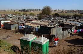 in kliptown most of the residence of the many squatter camps are