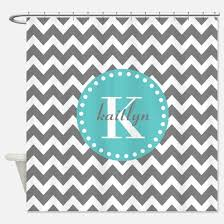 Gray And Teal Shower Curtain Create Your Own Custom Shower Curtain Cafepress