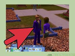 Wedding Cake In The Sims 4 How To Get Married In The Sims 3 With Pictures Wikihow
