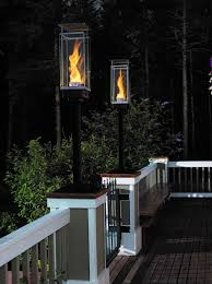 Outdoor Gas Torch Lighting Tempest Torch The Fireplace Professionals