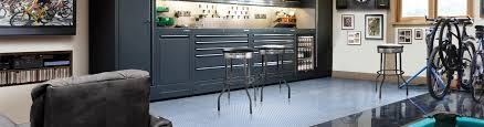 custom garage design by contemporary closets of naples fl