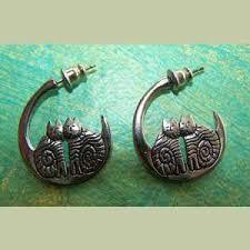 laurel burch earrings laurel burch silver cat crescent earrings laurel burch cat earrings