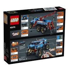 lego technic lamborghini aventador lego technic 42070 terenowy holownik 6x6 elementoys