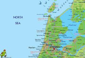 Holland Map Noord Holland