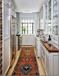Galley Kitchen Rugs Crushing On Kitchen Decorating Ideas With Kilim Rugs Galley
